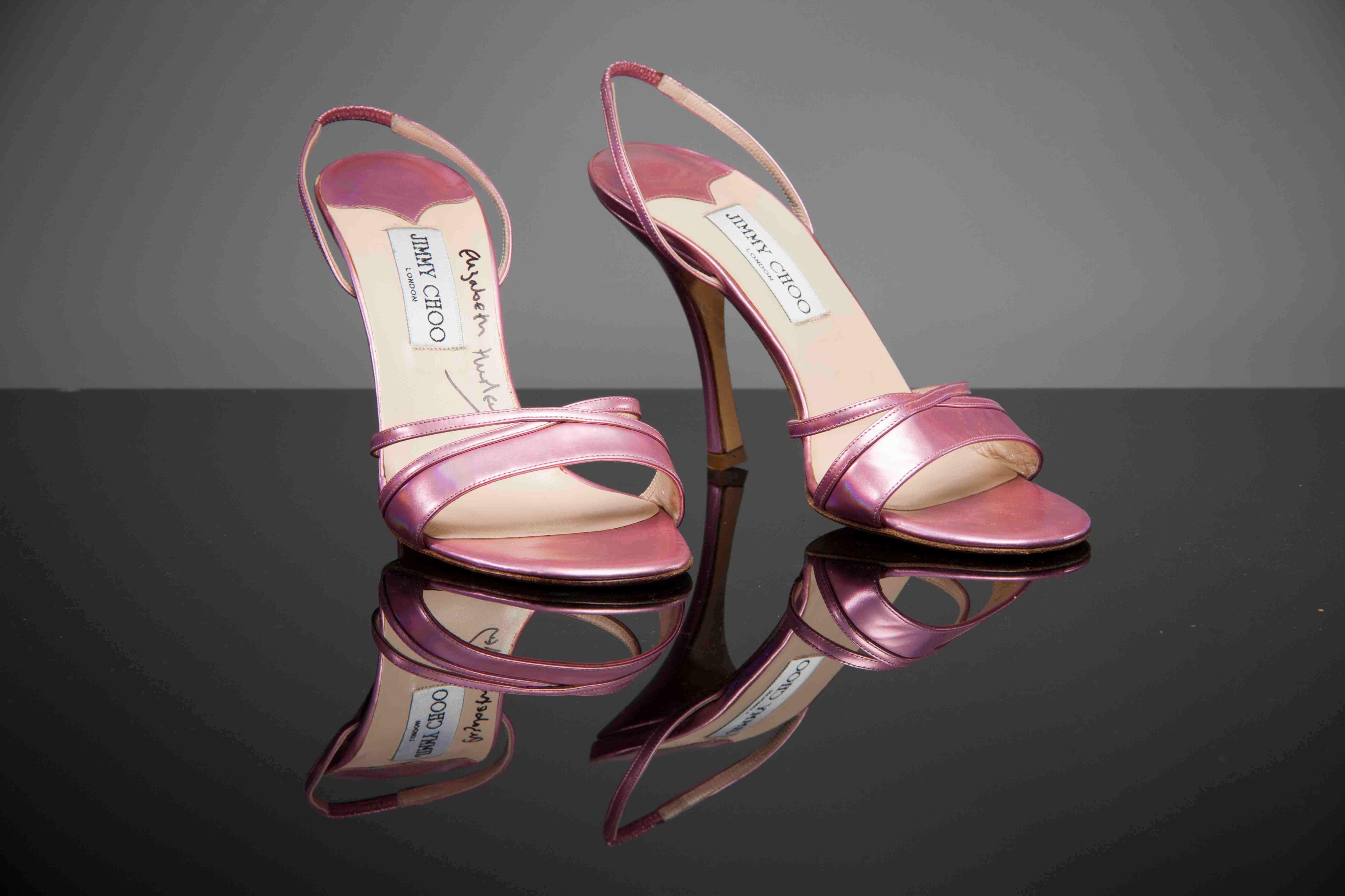 Elizabeth Hurley's size 6 shoes