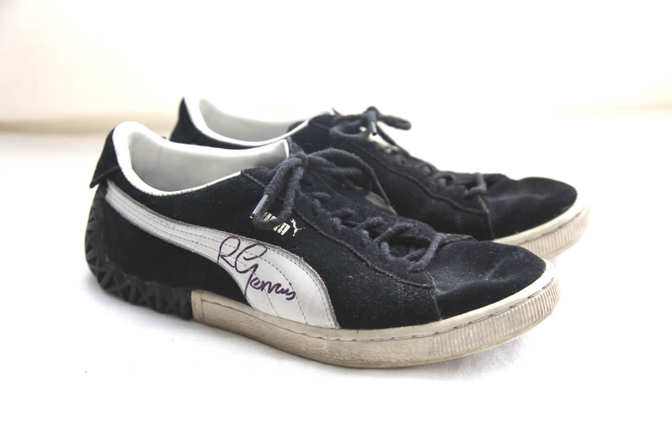 ce0eca596818 Ricky s Puma trainers donated in 2012
