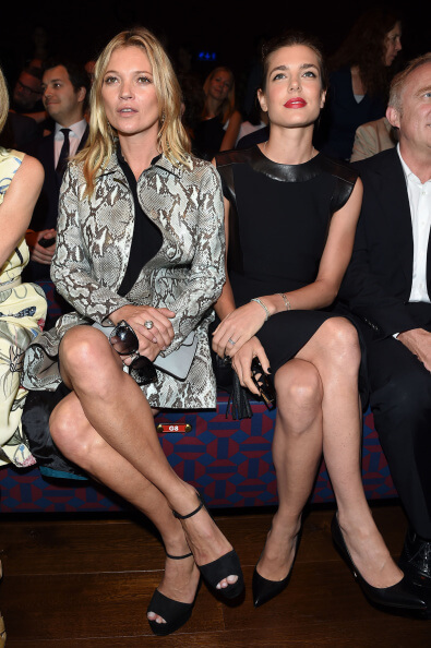 Kate wearing the shoes she donated in 2014