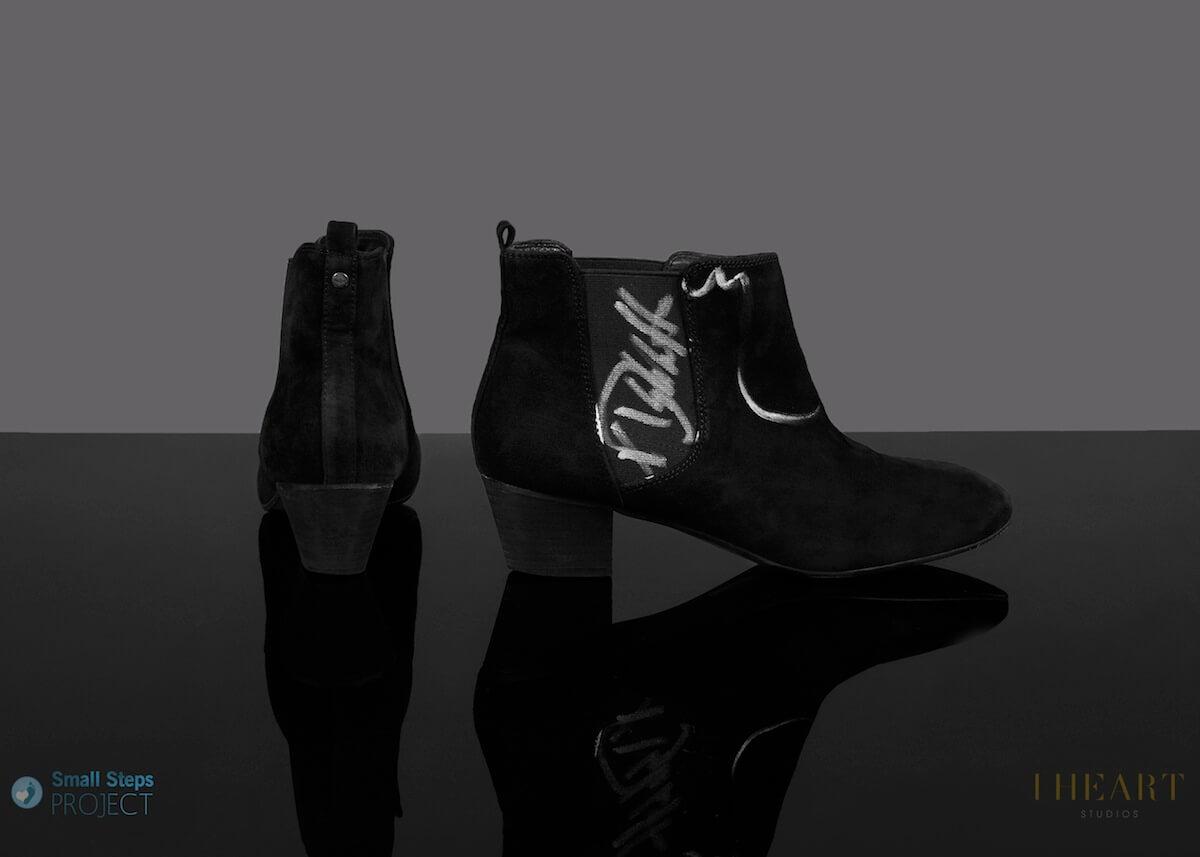 Debbie Harry's Prada boots donated in 2014