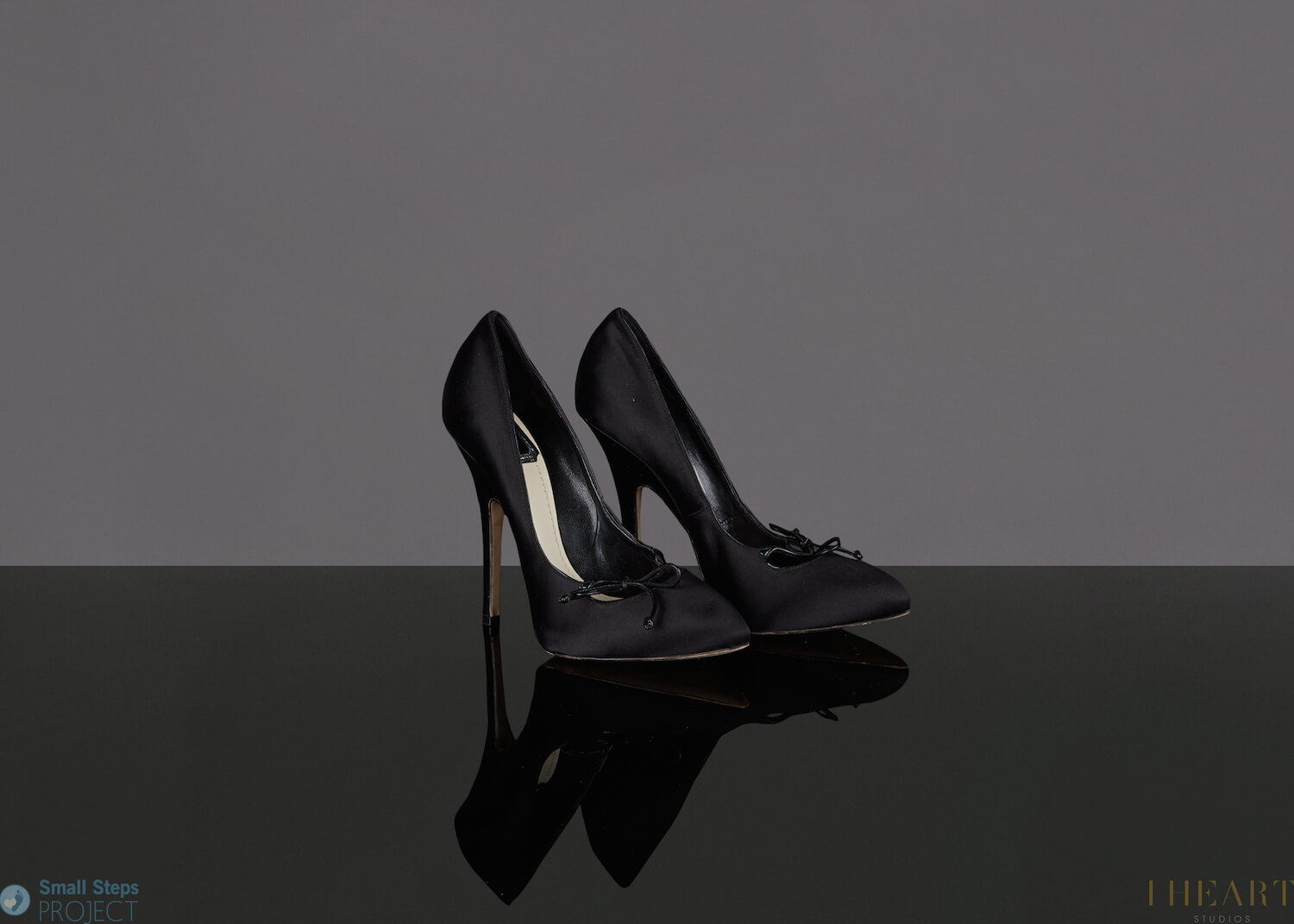 Natalie's Dior shoes were worn whilst filming her Dior commercial.