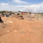 The dump is divided into several sections with make shift homes in different areas