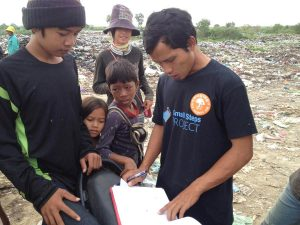 SSP social worker has been busy collecting all the names of the children on the dump.