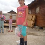 The children could swap their old shoes for new!