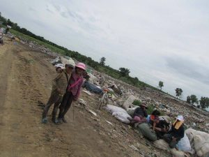 For some children the dump is their only place to play.