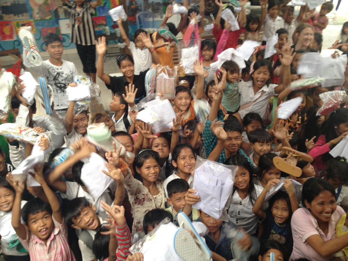 Cambodian Children's Painting Project 2