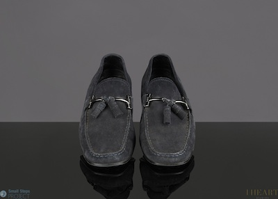 David donated these navy Tod's in a UK size 8.5