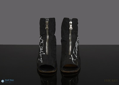 Prada shoes donated by Debbie Harry in 2013