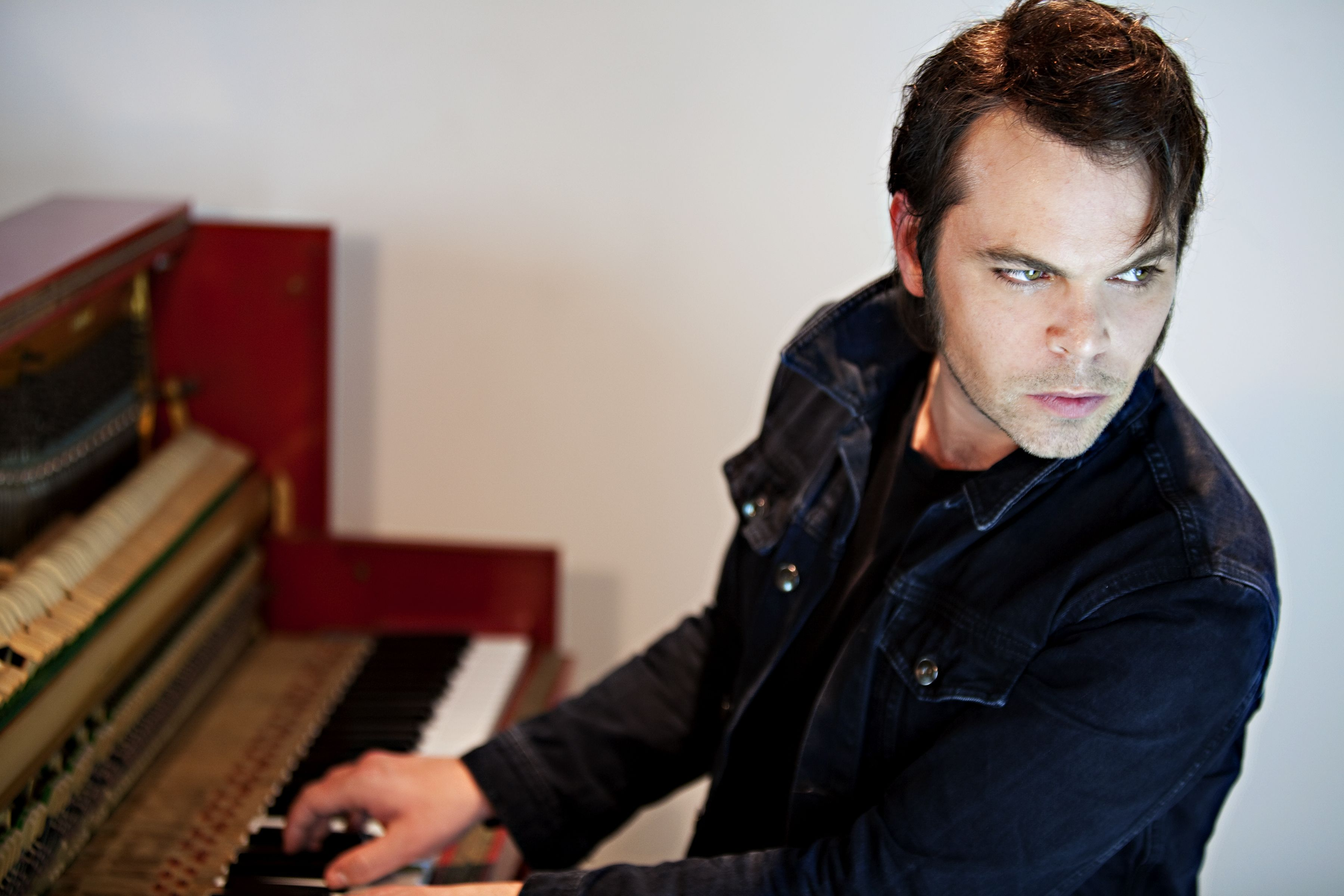 Gaz Coombes portrait photographed by Oxfordshire and London base