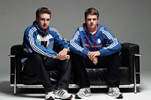 Jonathan and Alistair Brownlee Team GB
