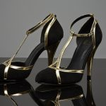 The lucky bidder will win these shoes worn by Madonna  during her MDNA tour.
