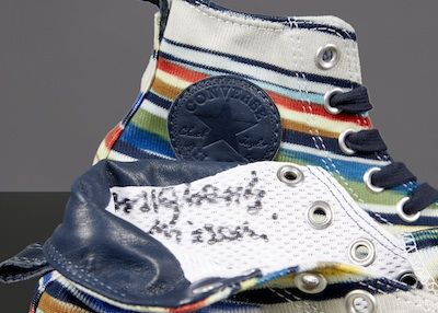 Margherita Missoni's Converse signed for 2014.