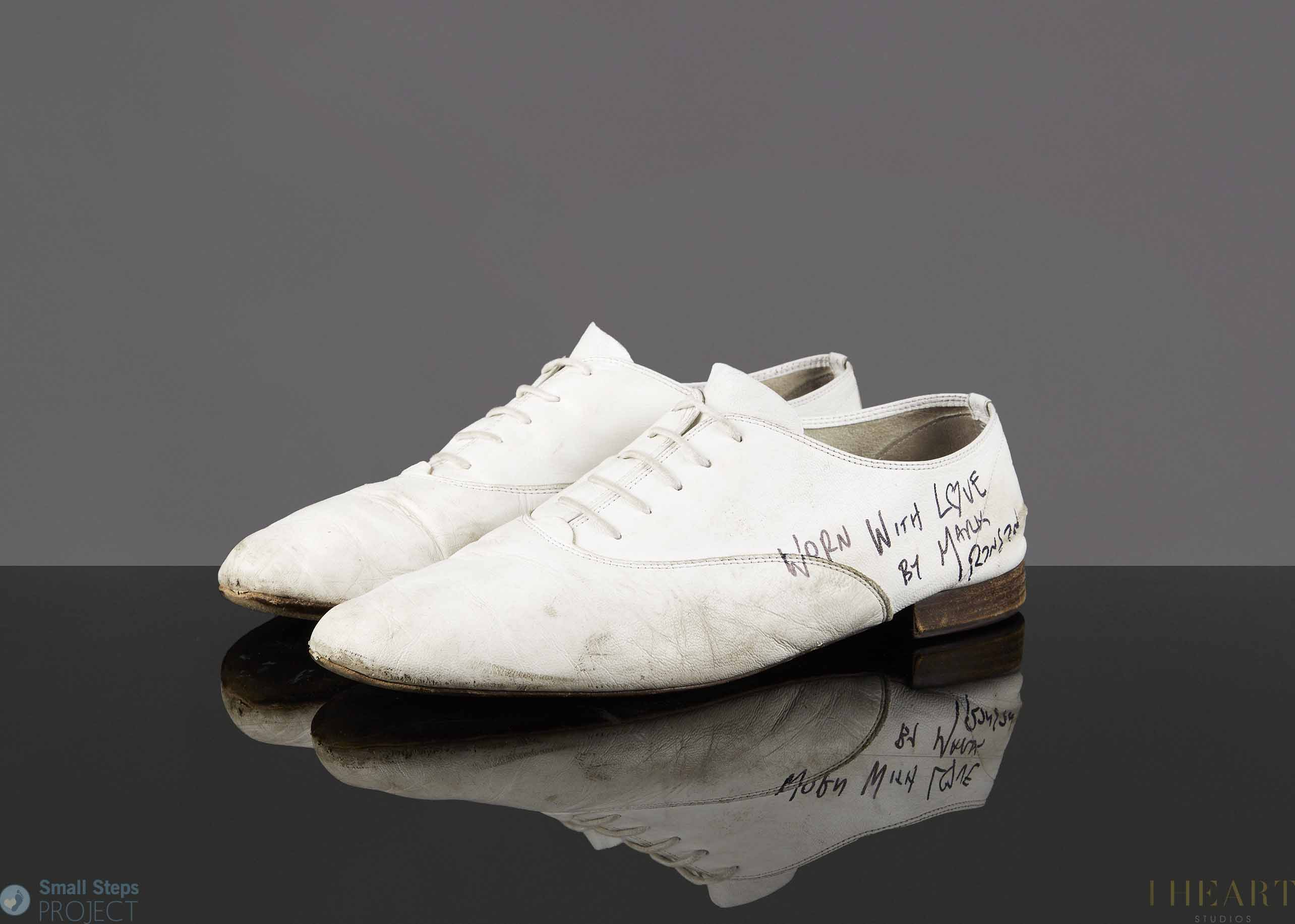 Mark wore these shoes during numerous band and DJ gigs