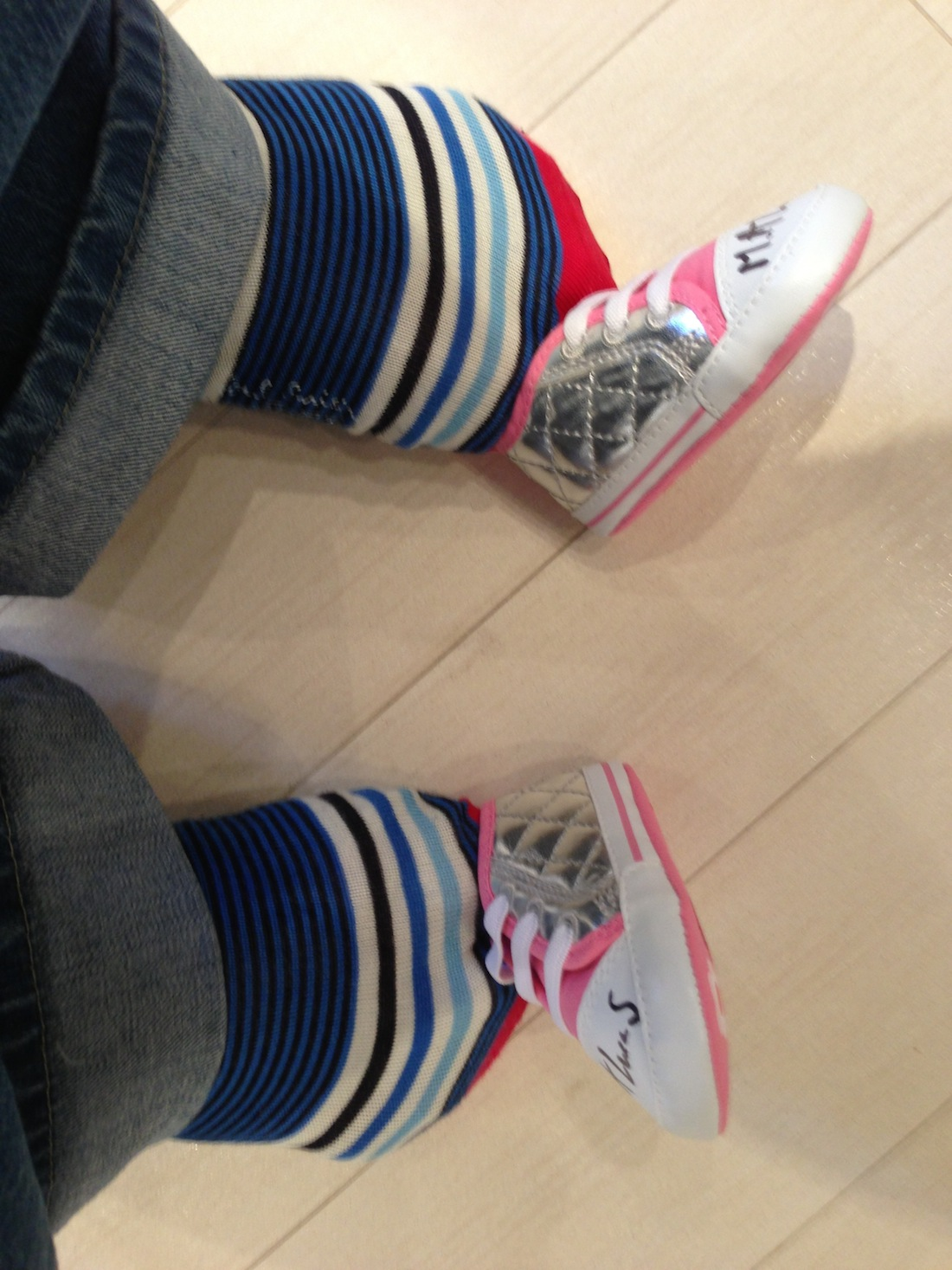 Matt has recently outgrown his shoes(!) We hope they go to a great new home!