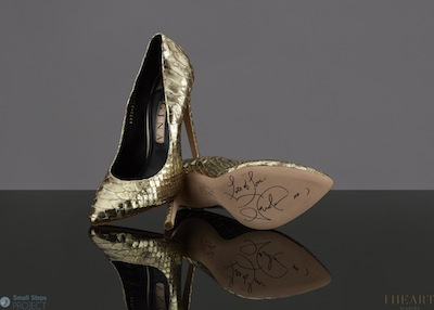 Nicole wore these gorgeous Gina stilettos on season 10 of the UK X Factor (Saturday 13 October, 2013)