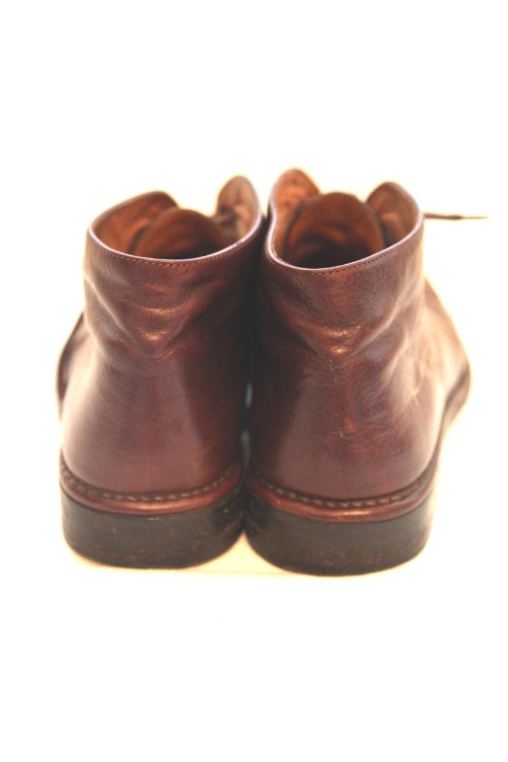 2014 Ralph donated a UK size 11 pair of brown leather John Varvatos shoes.