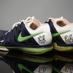 In 2014, Roger donated a pair of trainers he played in at Wimbledon. They sold for £1,779