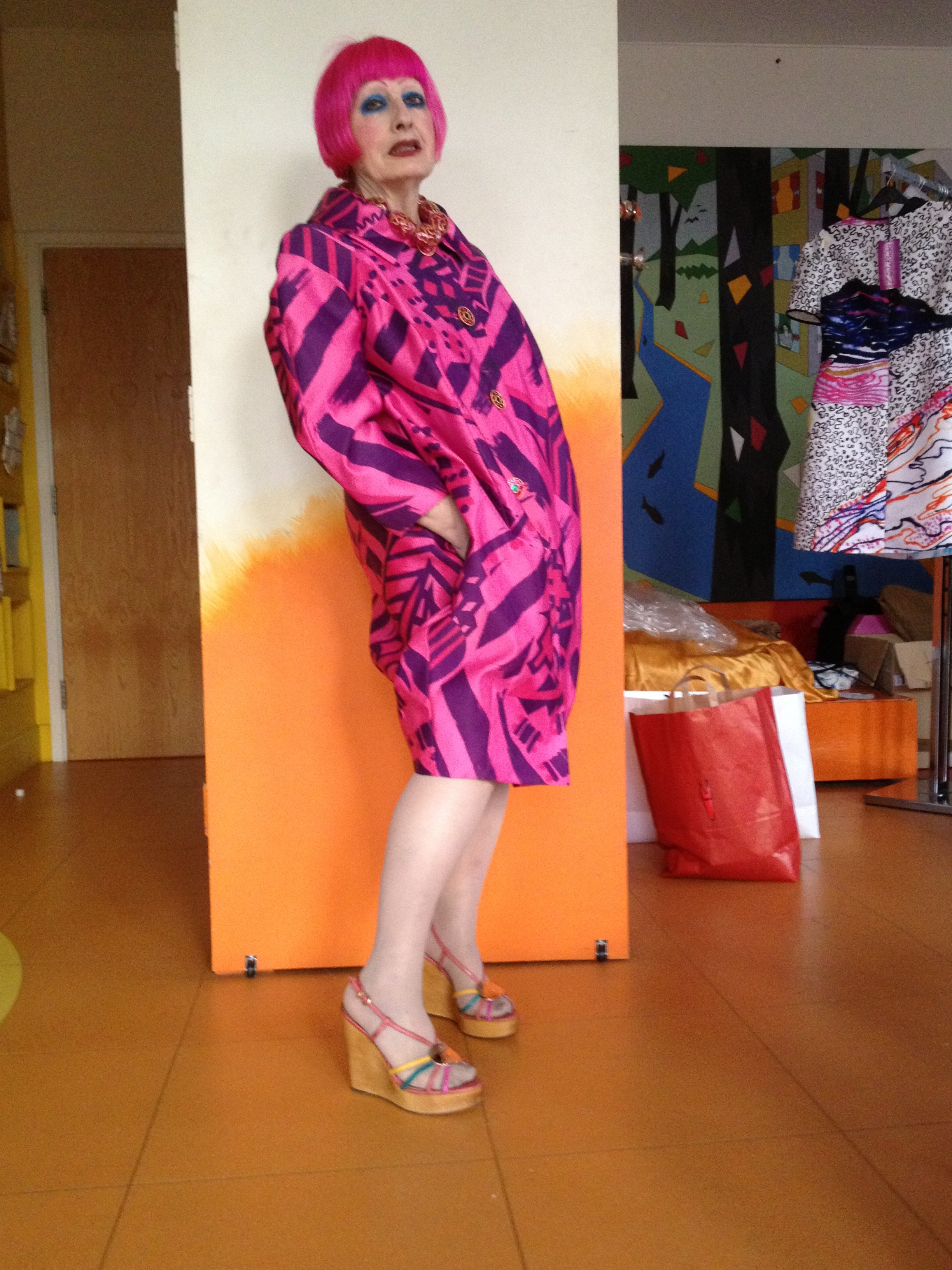 Zandra Rhodes | Small Steps Project