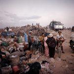 on the dump