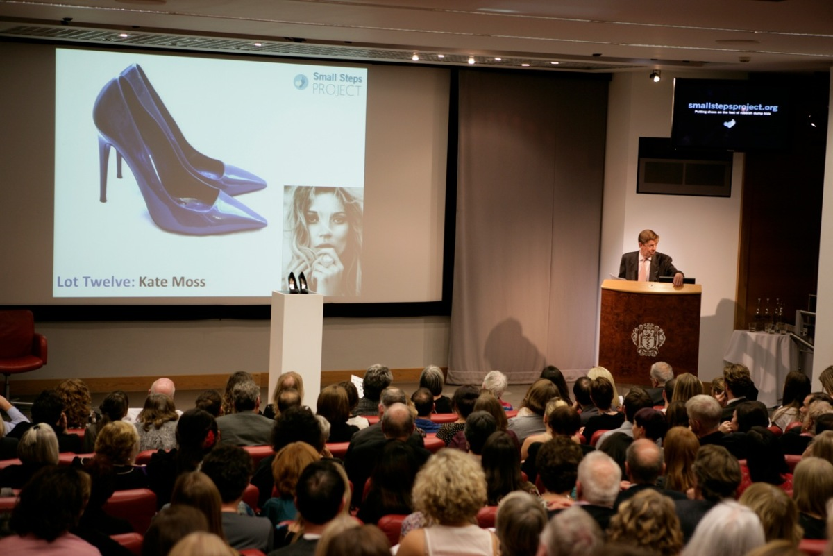 Celebrity Shoe Auction for Women's Heart Health - Look to ...