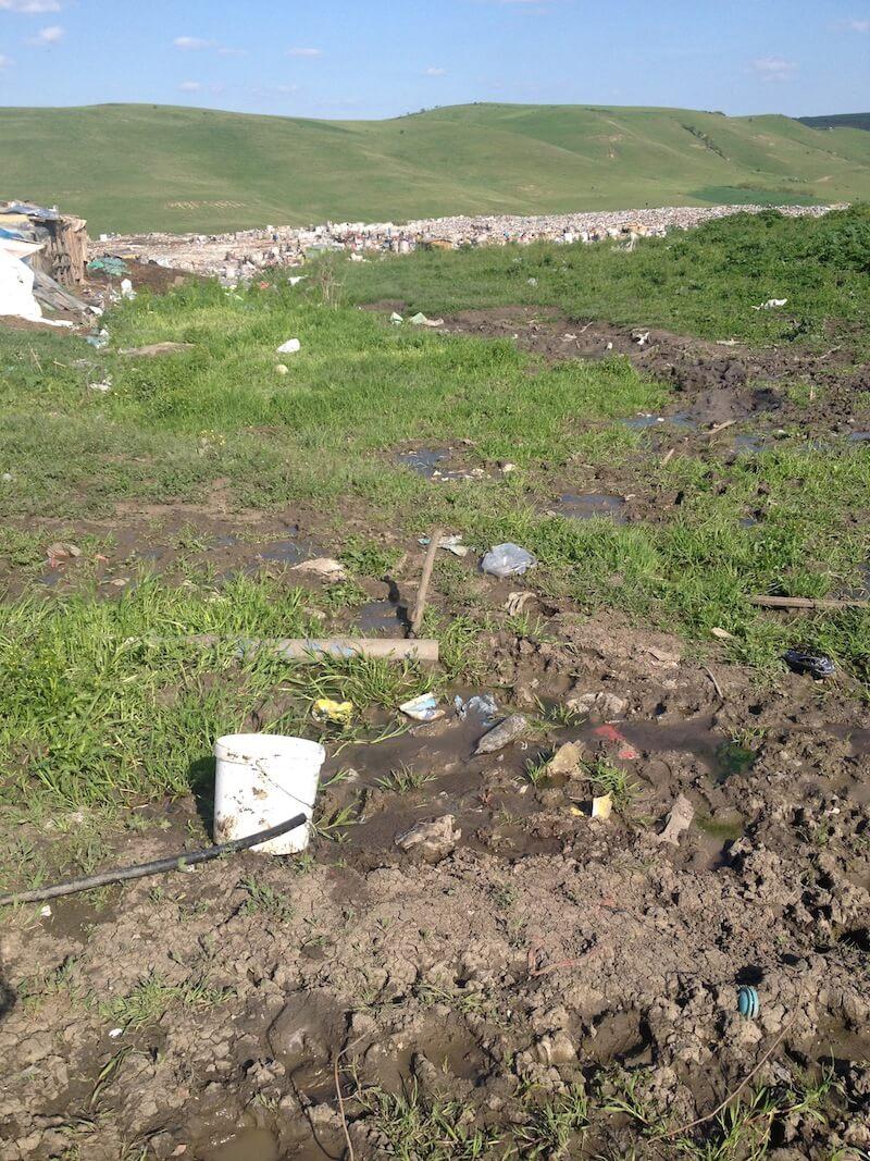 Dump water facilities