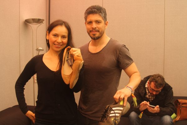 Rod, Gab and their shoes