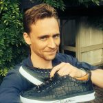 In 2014, Tom donated a signed pair of Jimmy Choo trainers, which sold for £2,150