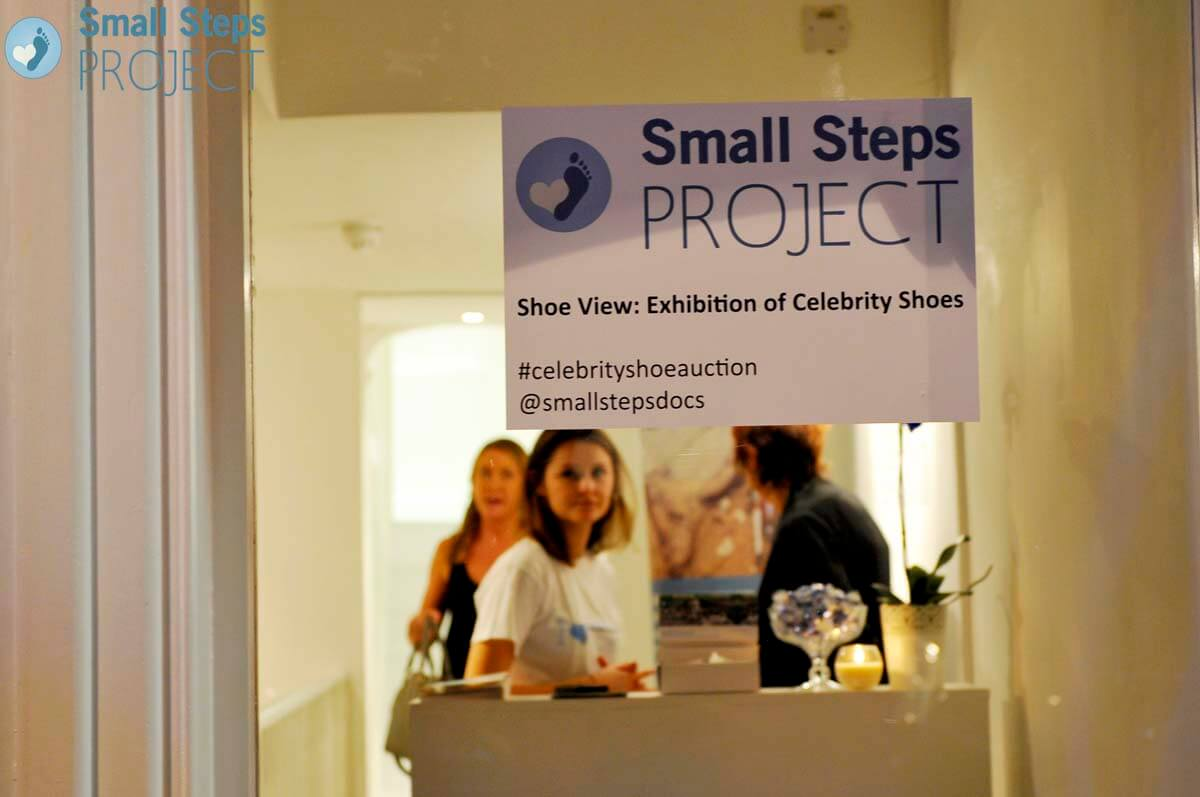 The Shoe View took place at 19 Greek Street in Soho, London. Thanks so much to them for providing such a fantastic venue for the event!