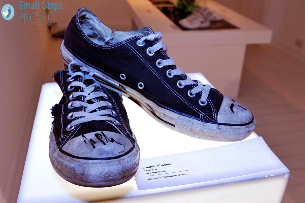 Joaquin Phoenix's 'favourite shoes'