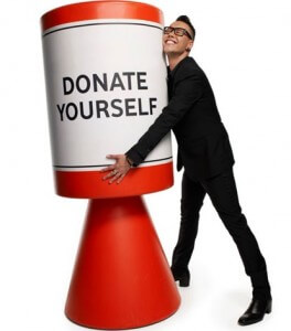Donate yourself