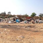 The KM36 landfill site has grown to an area of about 32.5 acres (13 hectares).