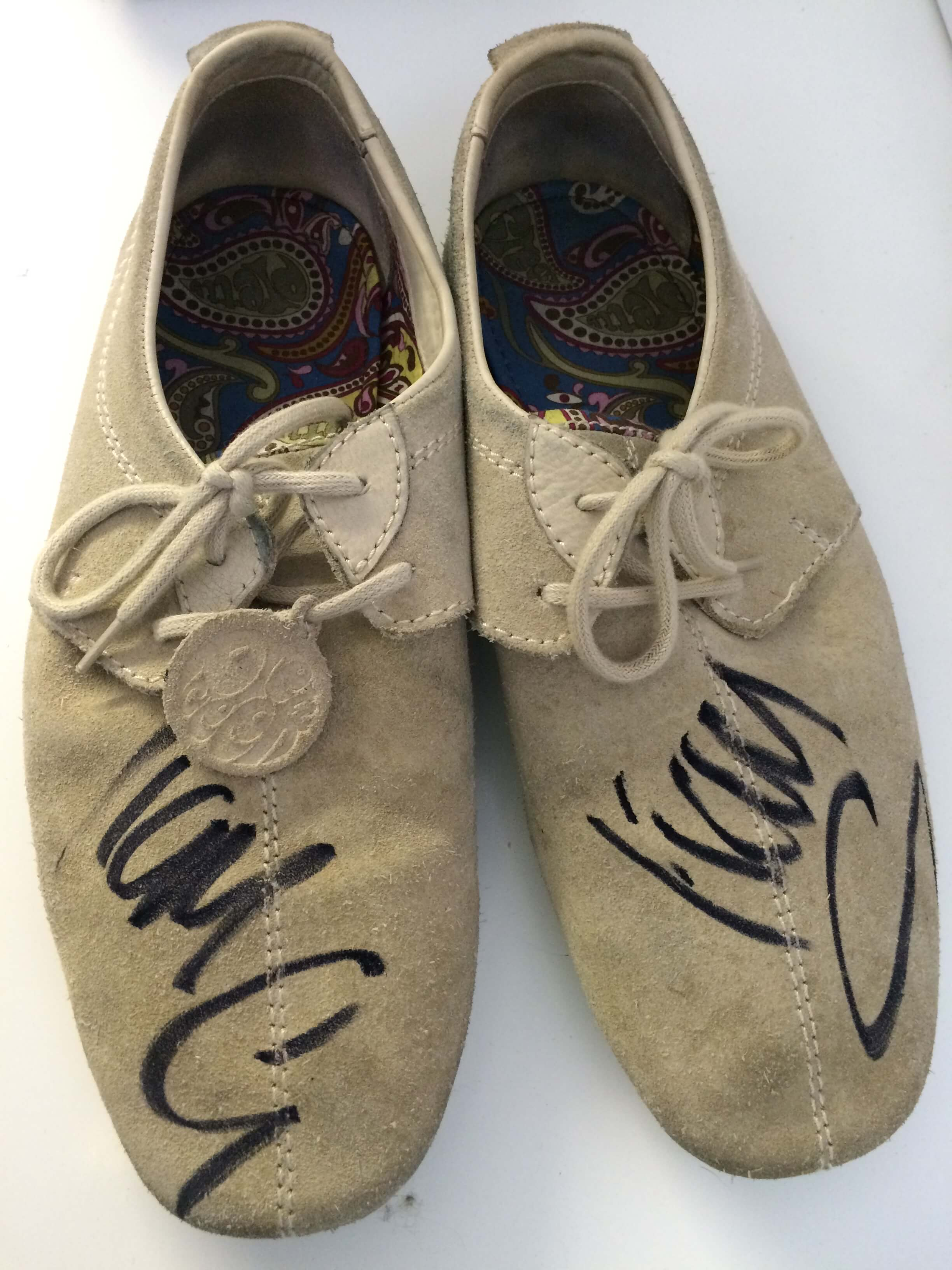Liam Gallagher shoes