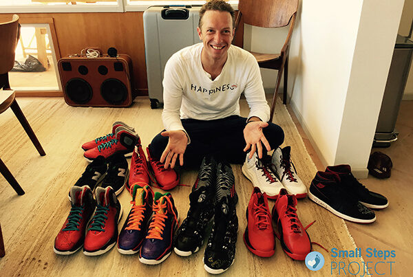d553bfe34ab Celebrity Shoe Donors - Small Steps Project