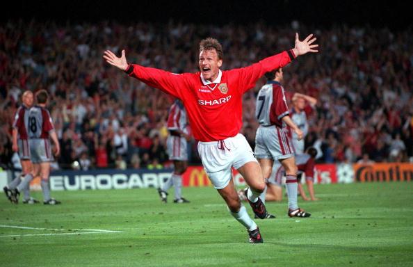 Image result for Manchester United 2 vs Bayern Munich 1 (1999 Final)